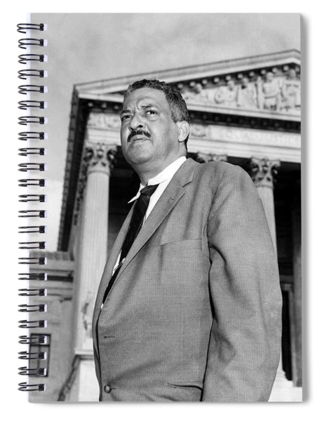 Thurgood Marshall Spiral Notebook