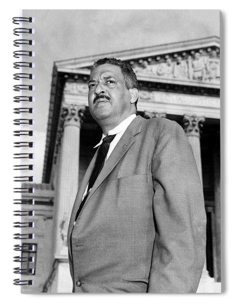 Thurgood Marshall Spiral Notebook