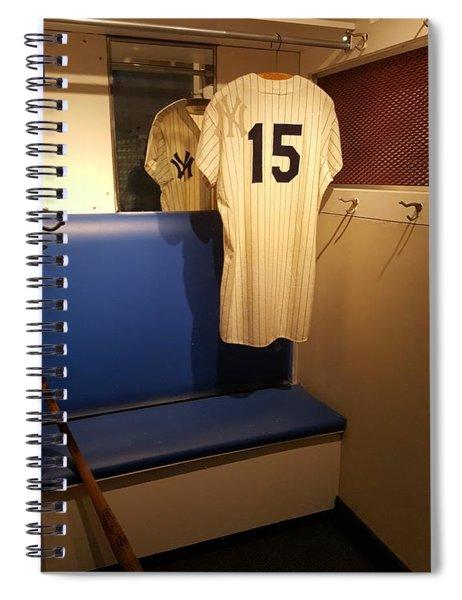 New York Yankee Captian Thurman Munson 15 Locker Spiral Notebook