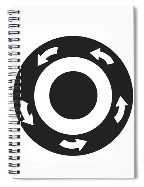 Thymus Tap Spiral Notebook