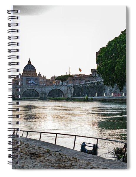 Tiber Walk Spiral Notebook