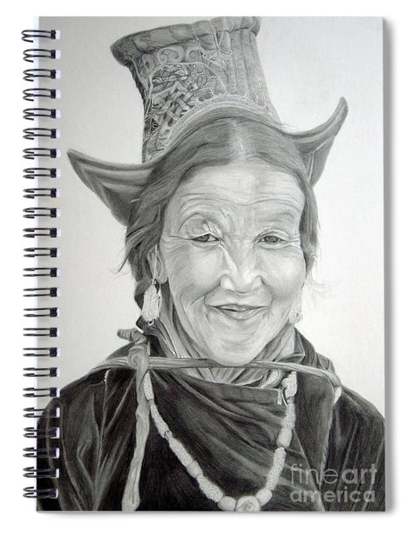 Tibetan Delight Spiral Notebook