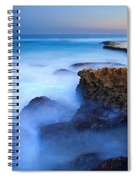 Tidal Bowl Boil Spiral Notebook