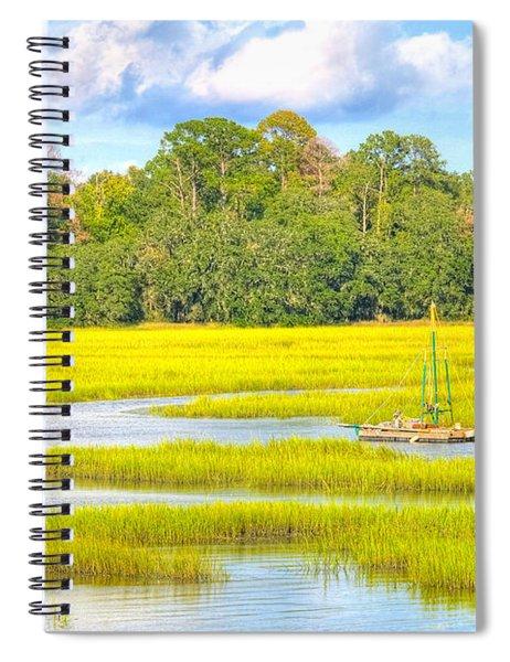 Tidal Castaway Spiral Notebook