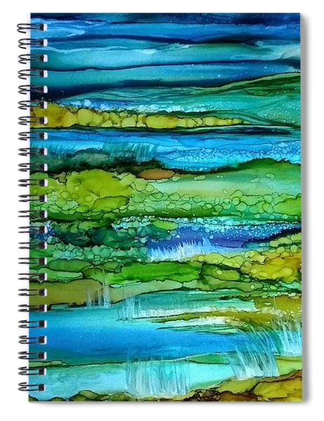 Tidal Pools Spiral Notebook