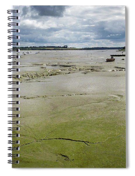 Tide Is Out  Spiral Notebook