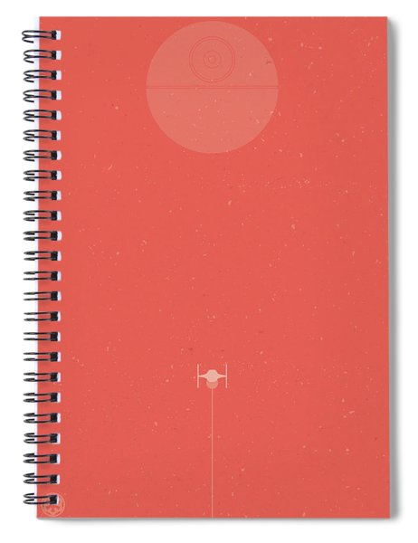 Tie Fighter Defense Spiral Notebook