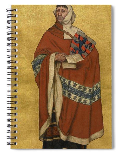 Tiedenman Van Den Bergh Spiral Notebook