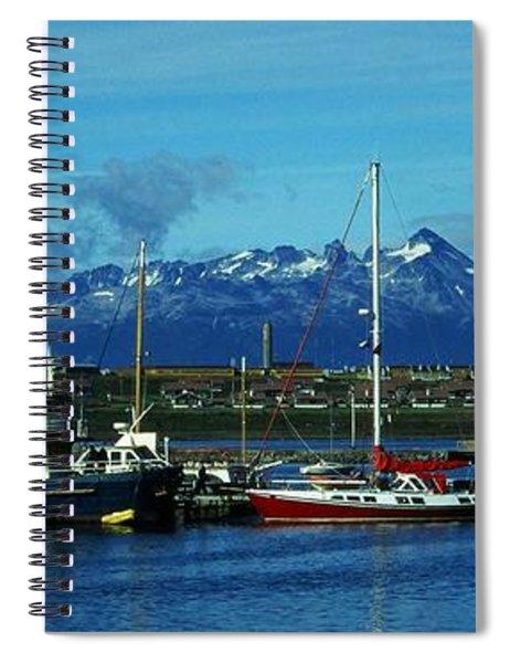 Tierra Del Fuego Spiral Notebook