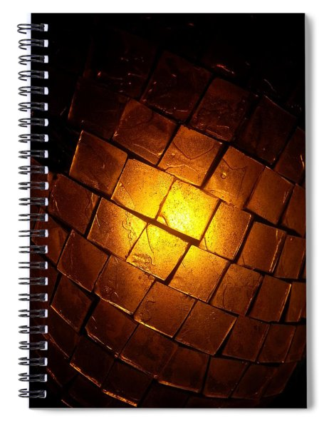 Tiffany Lamp Spiral Notebook