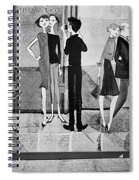 Tiffany Mural Spiral Notebook
