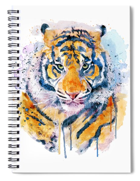 Tiger Face Spiral Notebook