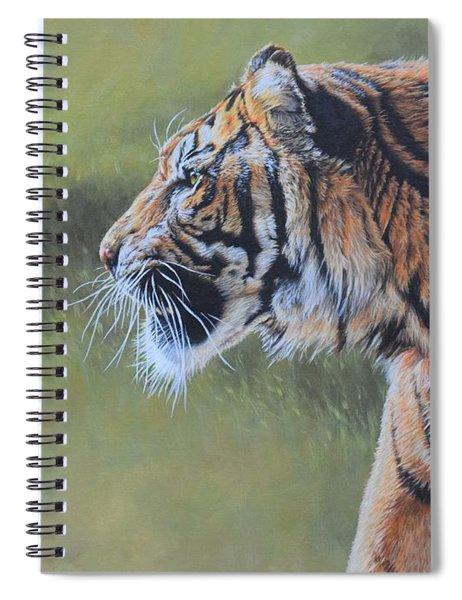 Tiger Portrait Spiral Notebook