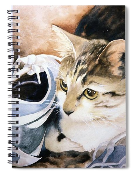 Tigger With Sneakers Spiral Notebook