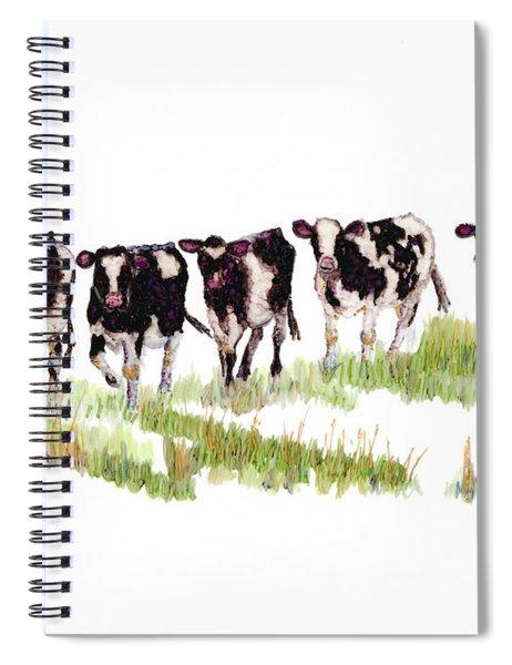 Till The Cows... Spiral Notebook