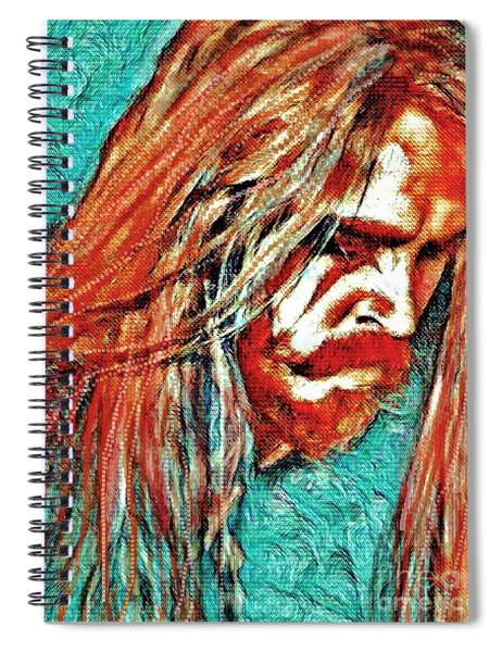 Tim Ohrstrom Spiral Notebook