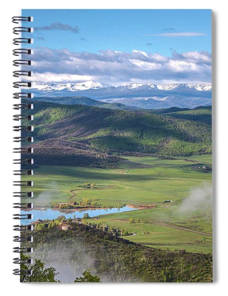 Timbers View  Spiral Notebook