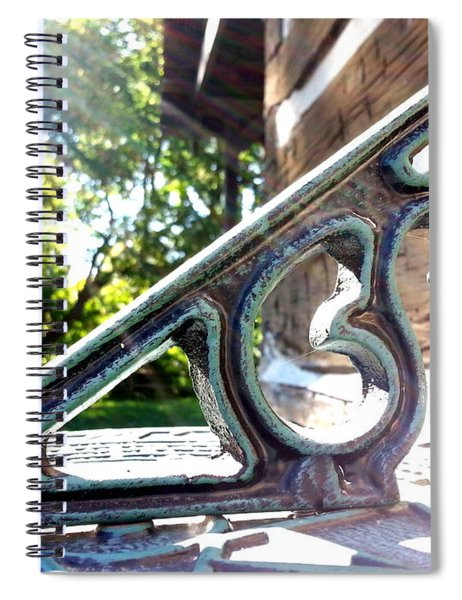 Time At An Angle Spiral Notebook