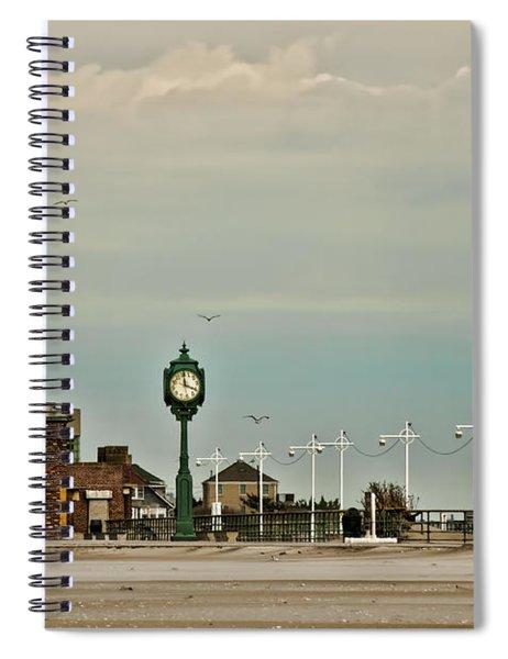 Time Flies Spiral Notebook