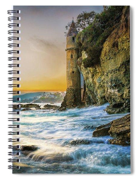Time Flows I Wait Spiral Notebook