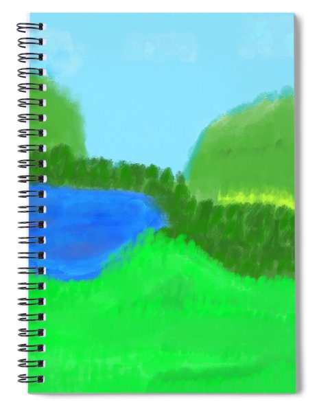 Time For Fishing Spiral Notebook