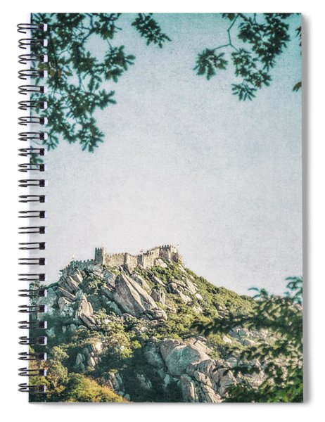 Time Temple Spiral Notebook