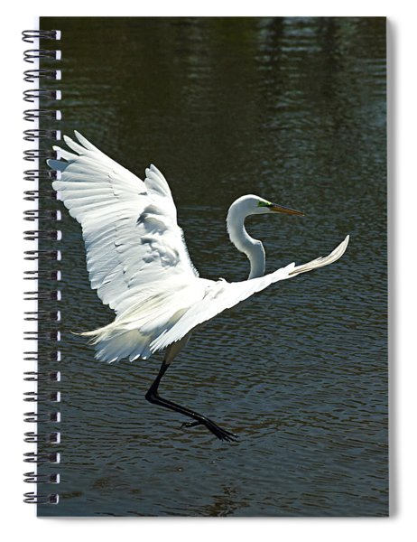 Time To Land Spiral Notebook