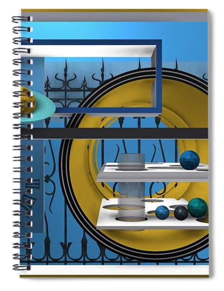 Time To Night Song Spiral Notebook