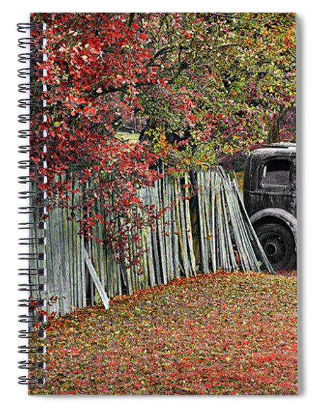 Time Was Spiral Notebook