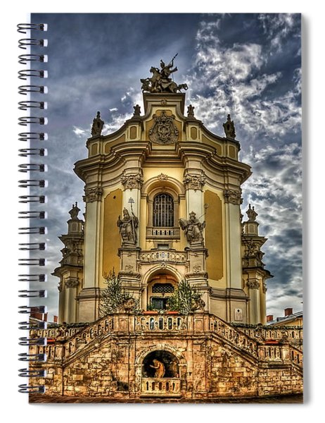 Timeless Beauty Spiral Notebook
