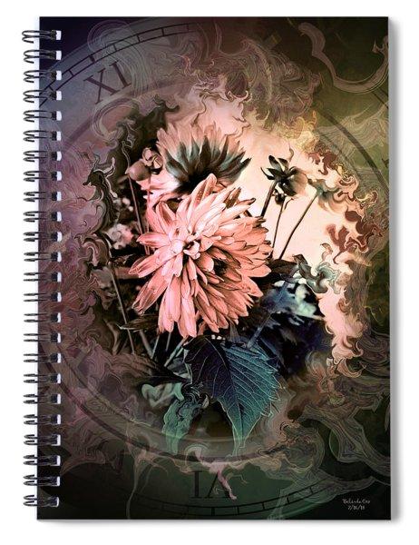 Timeless Dahlia Spiral Notebook