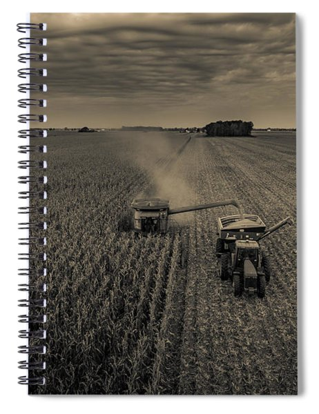 Timeless Farm Spiral Notebook