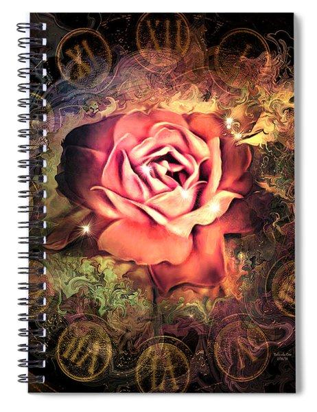 Timeless Rose Spiral Notebook