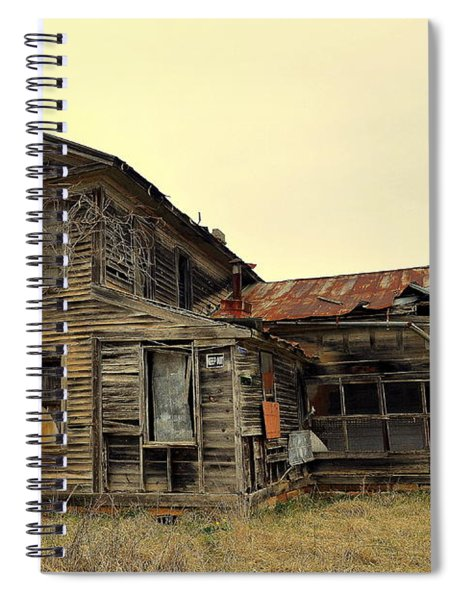 Times Past 2 Spiral Notebook
