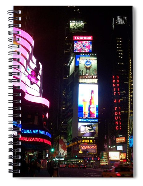 Times Square 1 Spiral Notebook