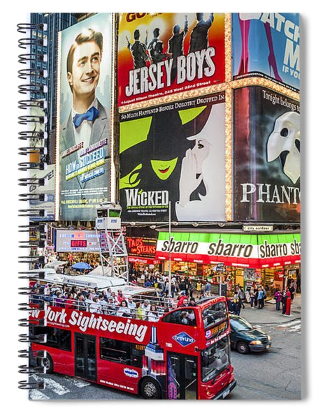 Times Square II Spiral Notebook
