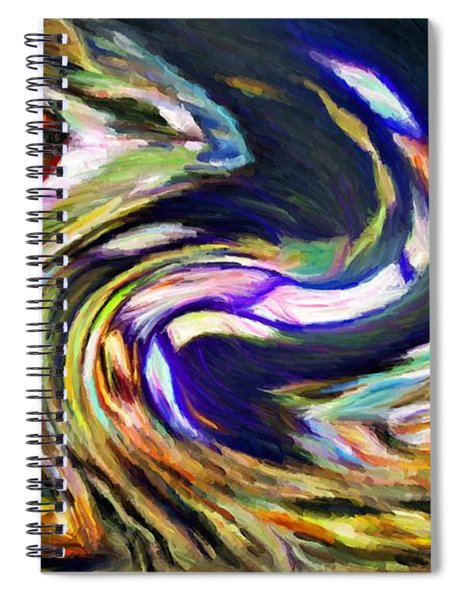 Times Square Swirl Spiral Notebook