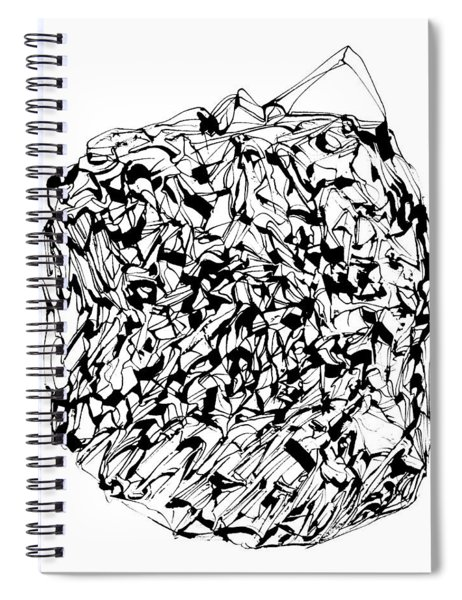 Timescape 1 Spiral Notebook