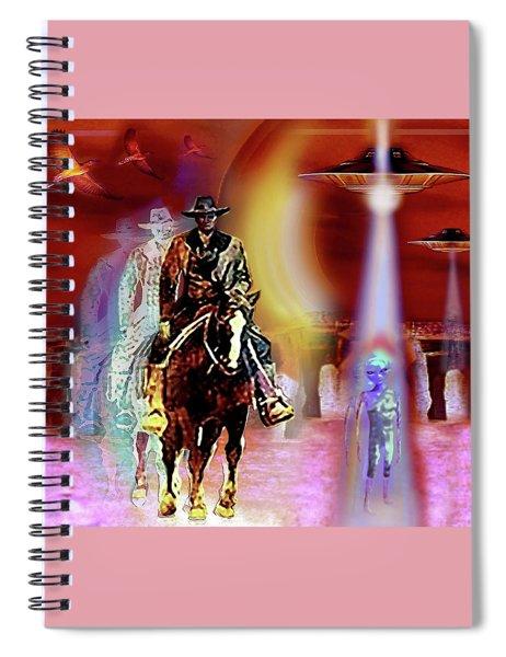 Stonehenge   Timewarp Spiral Notebook