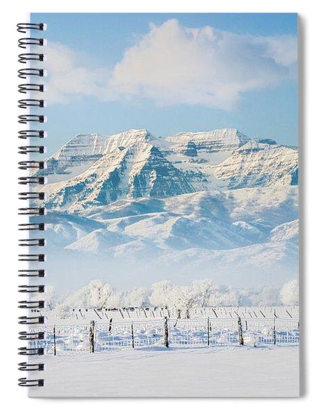 Timp In Winter Spiral Notebook