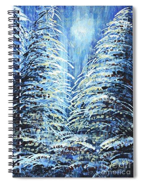 Tim's Winter Forest Spiral Notebook
