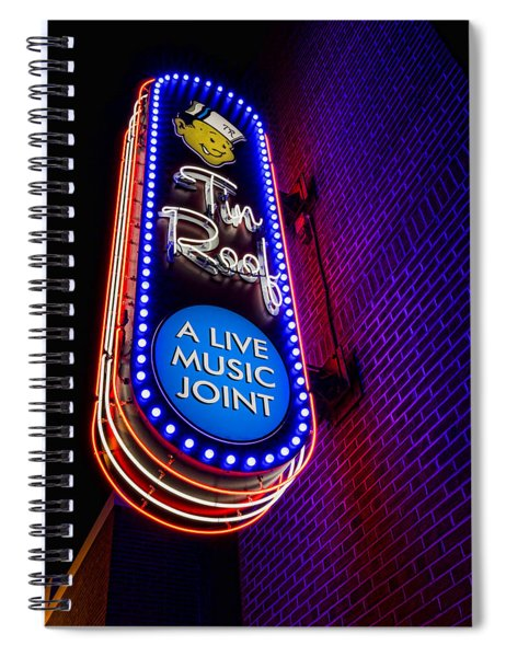 Tin Roof Beale Street Spiral Notebook
