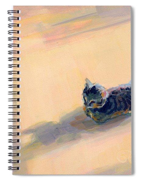 Tiny Kitten Big Dreams Spiral Notebook