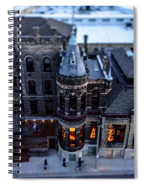 Tiny Pabst Castle Spiral Notebook