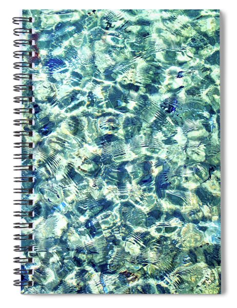Tiny Ripples Spiral Notebook