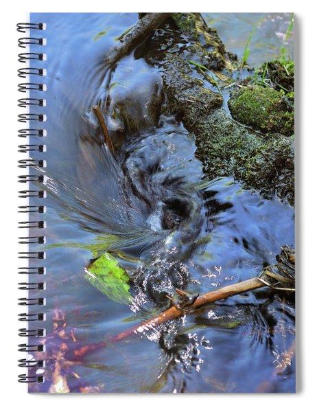 Tiny Whirlpool Spiral Notebook