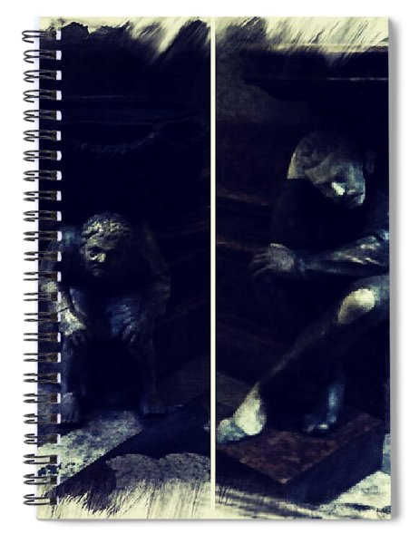 Tired Thinkers Spiral Notebook