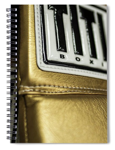 Title Boxing Gloves Spiral Notebook