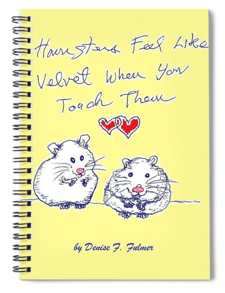Title Page For Hamster Book Spiral Notebook