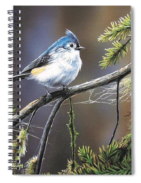 Titmouse Spiral Notebook